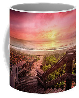 Coffee Mug featuring the photograph Sand Dune Morning by Debra and Dave Vanderlaan