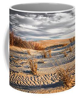 Sand Dune Wind Carvings Coffee Mug