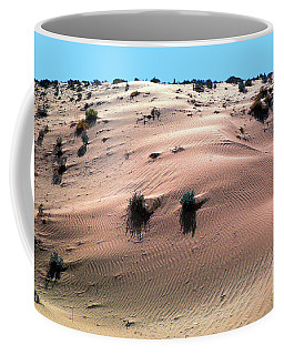 Sand Dunes And Ripples Coffee Mug by Wernher Krutein