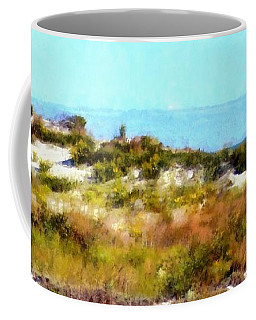 Coffee Mug featuring the photograph Sand Dunes Assateague Island by Janine Riley