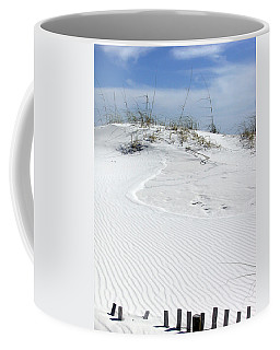 Coffee Mug featuring the photograph Sand Dunes Dream 2 by Marie Hicks