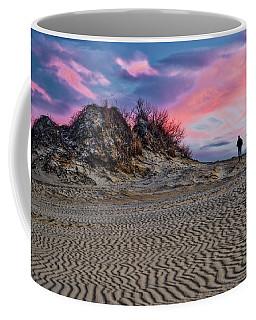 Sand Dunes Of Kitty Hawk Coffee Mug