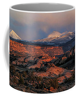 Sand Flats Sunset Coffee Mug