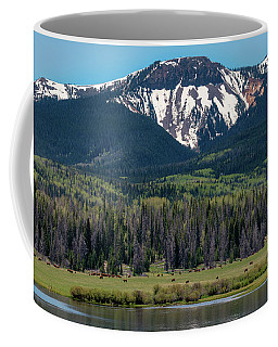 Sand Mountain From Steamboat Lake Coffee Mug