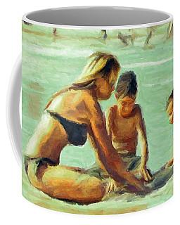Sand Play Coffee Mug