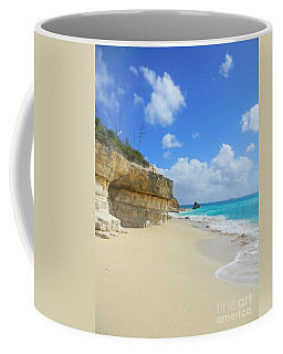 Sand Sea And Sky Coffee Mug by Expressionistart studio Priscilla Batzell