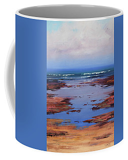Sand Sea And Sky Coffee Mug