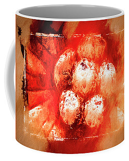Coffee Mug featuring the digital art Sand Storm by Carolyn Marshall