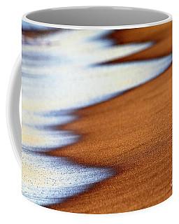Sand And Waves Coffee Mug