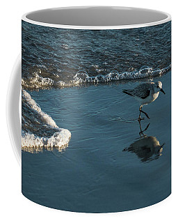 Sanderling Reflection Delray Beach Florida Coffee Mug