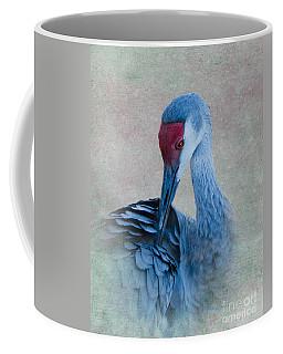 Sandhill Crane Coffee Mug by Betty LaRue