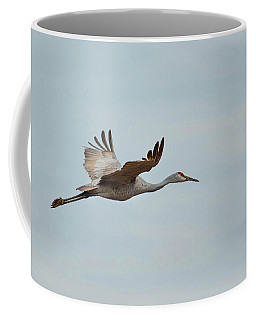 Coffee Mug featuring the photograph Sandhill Crane by Paul Mashburn