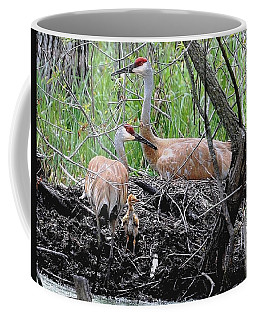 Sandhill Family  Coffee Mug