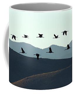 Sandhills In Silhouette Coffee Mug