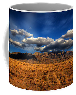 Sandia Crest In Late Afternoon Light Coffee Mug