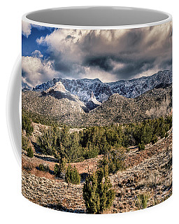 Sandia Mountain Landscape Coffee Mug