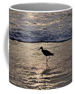 Sandpiper On A Golden Beach Coffee Mug