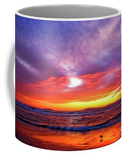 Sandpiper Sunset Ventura California Coffee Mug