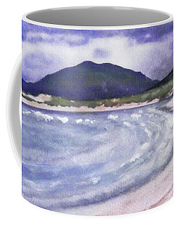 Sands, Harris Coffee Mug by Richard James Digance