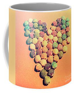 Sands Of Retro Love Coffee Mug