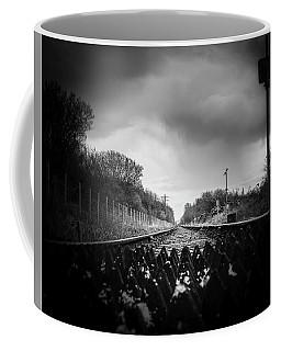 Sandscale Crossing Coffee Mug by Keith Elliott
