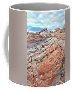 Sandstone Crest In Valley Of Fire Coffee Mug