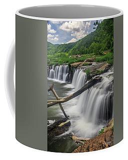 Coffee Mug featuring the photograph Sandstone Falls by Ronald Santini