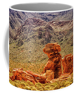 Sandstone Outcrop Valley Of Fire Coffee Mug