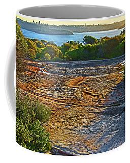 Coffee Mug featuring the photograph Sandstone Platform by Miroslava Jurcik