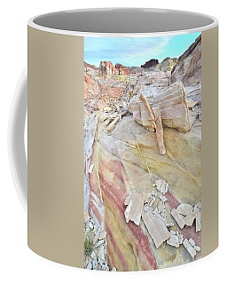 Sandstone Rainbow In Valley Of Fire Coffee Mug