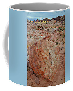 Sandstone Shield In Valley Of Fire Coffee Mug