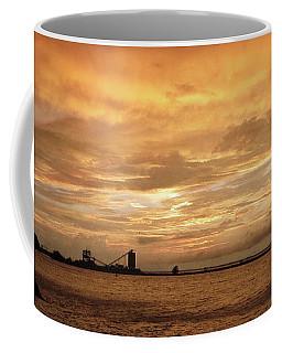 Sandusky Coal Dock Sunset 2 Coffee Mug