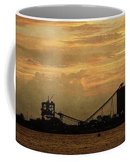Sandusky Coal Dock Sunset Coffee Mug