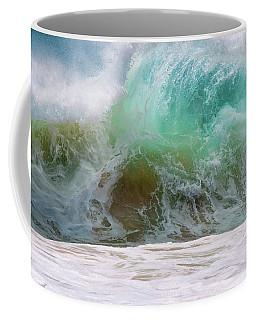 Sandy Beach Surf Coffee Mug