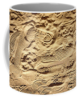 Sandy Footprints Coffee Mug