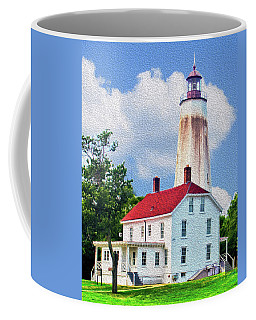 Sandy Hook Light House Coffee Mug