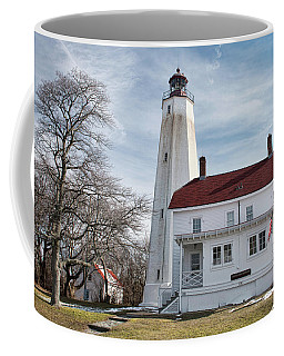 Sandy Hook Lighthouse - Winter Coffee Mug