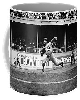 Sandy Koufax (1935- ) Coffee Mug