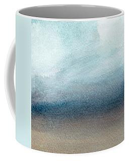 Sandy Shore- Art By Linda Woods Coffee Mug
