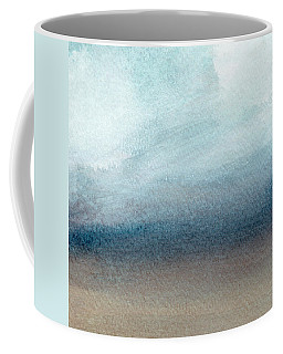 Sandy Shore- Art By Linda Woods Coffee Mug