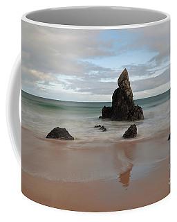 Coffee Mug featuring the photograph Sango Bay by Maria Gaellman