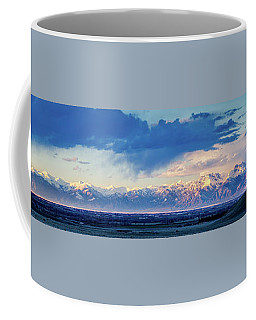Sangre De Cristo Mountains Of Colorado Panorama Coffee Mug