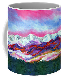 Sangre De Cristo Mountains Coffee Mug