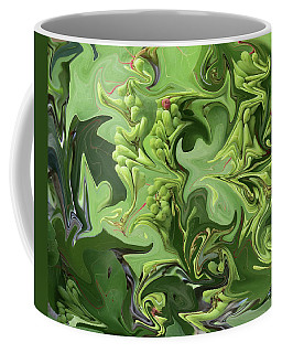 Sanibel Seagrapes Coffee Mug by Melinda Saminski