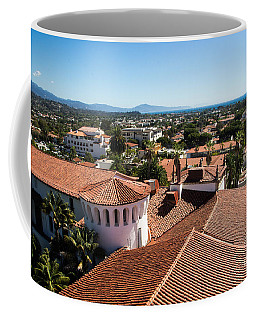 Santa Barbara From Above Coffee Mug by Suzanne Luft