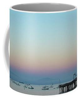 Santa Barbara Pier At Dusk Coffee Mug