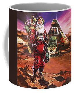 Santa Claus On Mars Coffee Mug