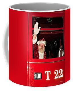 Santa Clause Arrives Coffee Mug