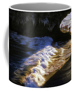 Santa Cruz 'bridge' California Coastline Coffee Mug