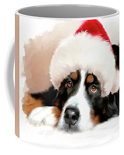 Santa Dog Coffee Mug